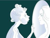 Espelho imagens de stock
