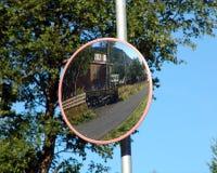 Espelho da estrada Foto de Stock Royalty Free