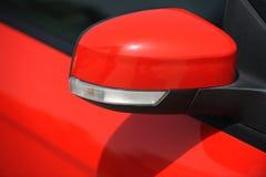 Espelho de asa do carro. Imagens de Stock Royalty Free