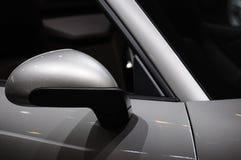 Espelho de asa do carro Fotografia de Stock Royalty Free