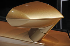 Espelho de asa do carro de Lamborghini Fotos de Stock