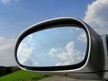 Espelho de carro imagem de stock royalty free