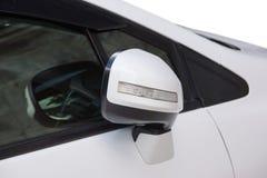 Espelho de carro dobrável Imagem de Stock