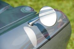 Espelho de condução do vintage fotos de stock