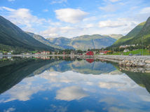 Espelho de Noruega Fotos de Stock