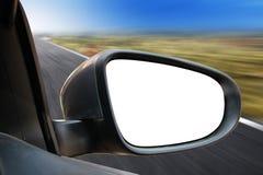 Espelho de Rearview Fotografia de Stock
