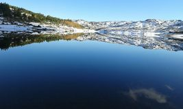 Espelho de Waterr Imagens de Stock Royalty Free