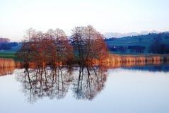 Espelho do lago Fotos de Stock Royalty Free