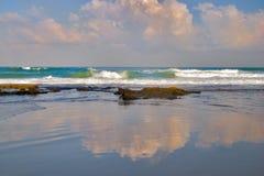 Espelho do mar Imagens de Stock Royalty Free