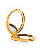 Espelho do ouro Imagem de Stock Royalty Free