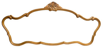 Espelho do vintage isolado foto de stock royalty free