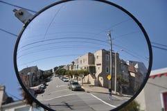 Espelho esférico Fotos de Stock Royalty Free