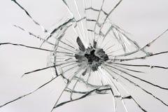 Espelho quebrado Fotografia de Stock Royalty Free