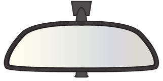Espelho retrovisor robusto Imagem de Stock Royalty Free