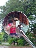 Espelho Selfie mim Fotos de Stock