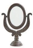 Espelho velho do metal Foto de Stock