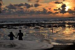 Espera de los pares para el sistema del sol imagen de archivo libre de regalías