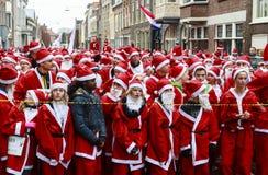 A espera de Santa Imagens de Stock Royalty Free