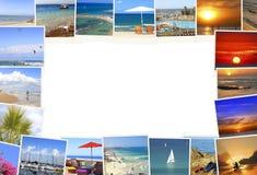 Espera do mar Mediterrâneo para você! Fotografia de Stock Royalty Free
