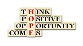Esperança Imagem de Stock Royalty Free