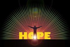 Esperança Foto de Stock