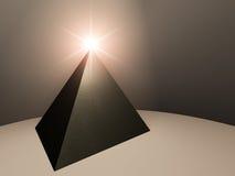 Esperança da pirâmide ilustração stock