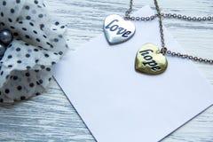 Esperança e amor do coração Fotografia de Stock Royalty Free