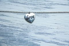 Esperança e amor do coração Imagens de Stock