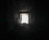 Esperança e desespero Tonnel com estrutura e luz Imagens de Stock Royalty Free