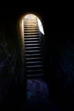 Esperança (escadas fora da cadeia/Dungeon) Imagens de Stock Royalty Free