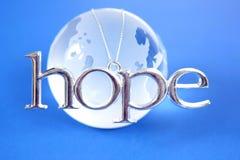 Esperança para o mundo foto de stock