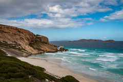 Esperance beach. Rocks, white sand and crystal water at an Esperance beach Stock Image