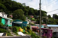 Esperando o ônibus da reggae Fotografia de Stock Royalty Free