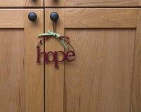Esperanza. Foto de archivo libre de regalías