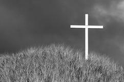 Esperanza de la cruz Foto de archivo libre de regalías