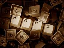 Esperanza en caos Foto de archivo libre de regalías
