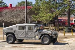 Esperanza Mills Police Vehicles Fleet, Carolina del Norte, los E.E.U.U. 7 de abril de 2018 fotos de archivo