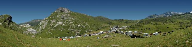 Esperar el Tour de France Imagen de archivo libre de regalías