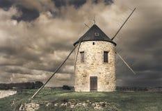Esperar el viento Foto de archivo
