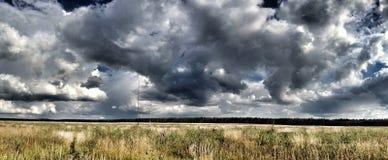 Esperar la lluvia Fotos de archivo