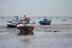 Esperar la marea Imagen de archivo libre de regalías
