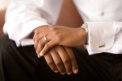 Esperar a la novia Imagen de archivo libre de regalías