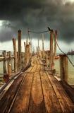 Esperar la tormenta Fotografía de archivo