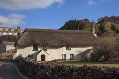 Espere la ensenada, Devon, Inglaterra Fotografía de archivo libre de regalías