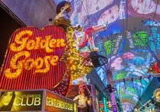 Esperienza della via di Las Vegas, Fremont Immagine Stock