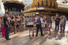 Esperienza di Fremont, giorno a Las Vegas, NV il 21 aprile 2013 Immagini Stock