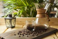 Esperienza gastronomica di barista e del caffè immagine stock libera da diritti