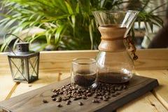 Esperienza gastronomica di barista e del caffè fotografie stock libere da diritti