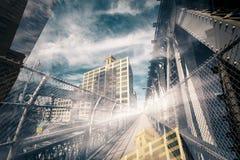 Esperienza urbana Immagini Stock Libere da Diritti