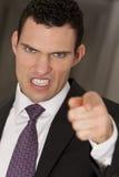 Esperto e irritado Foto de Stock